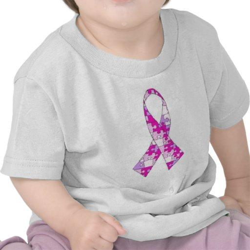 Camisa del rosa de la conciencia del autismo
