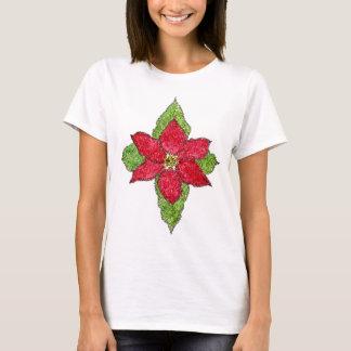 Camisa del salmo 148 del Poinsettia