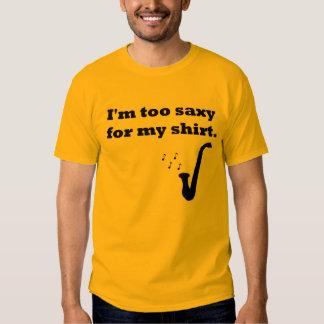 Camisa del saxofón