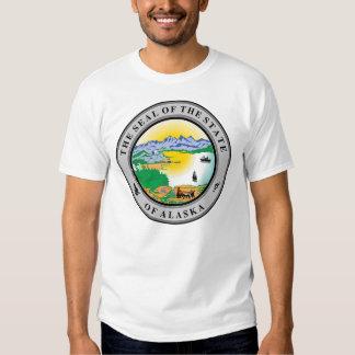 Camisa del sello del estado de Alaska