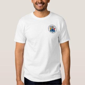 Camisa del sello del estado de New Jersey