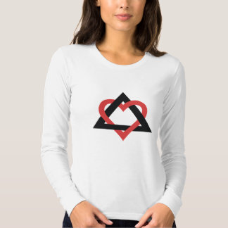 Camisa del símbolo de la adopción