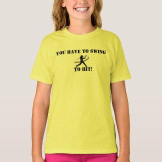 Camisa del softball de Fastpitch