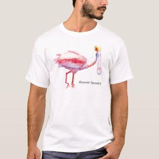 Camisa del Spoonbill rosado