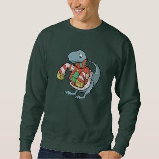 Camisa del suéter de T. Rex Christmas