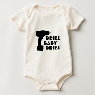 Camisa del taladro del bebé del taladro