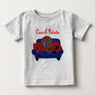 Camisa del teleadicto del bebé