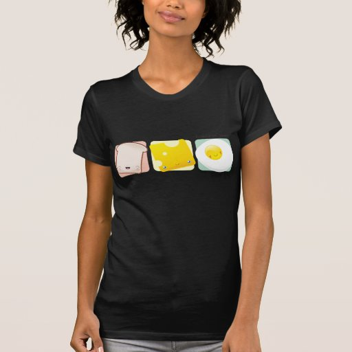 Camisa del tiempo de desayuno