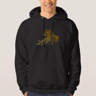 Camisa del tigre del oro