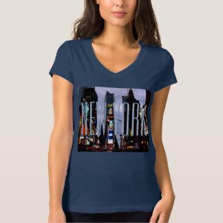 Camisa del Times Square NYC de la camisa del