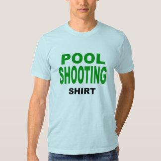 Camisa del tiroteo de la piscina