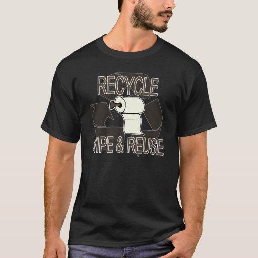 Camisa del trapo y de la reutilización