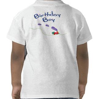 Camisa del tren del muchacho del cumpleaños