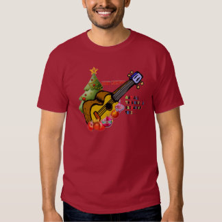 Camisa del Ukulele del navidad