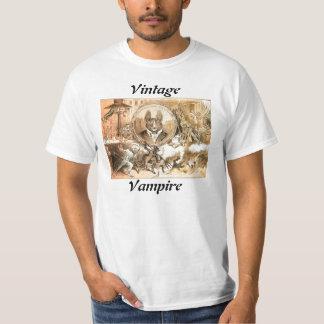 Camisa del vampiro del vintage