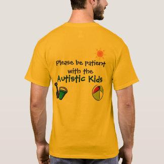 Camisa del verano de la conciencia del autismo