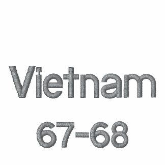 Camisa del veterano de Vietnam Camiseta Polo Bordada