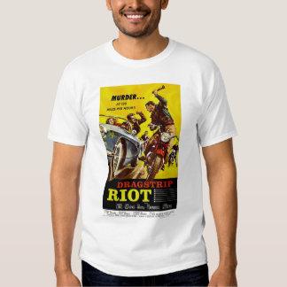 Camisa del vintage del alboroto de Dragstrip