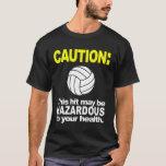 Camisa del voleibol: Precaución