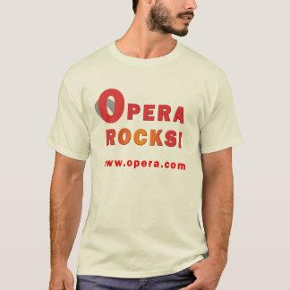 Camisa del web browser de la ópera