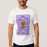 camisa del wordcloud de leo - Löwe
