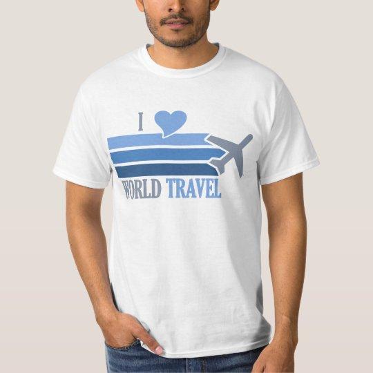 Camisa del World Travel - elija el estilo y el