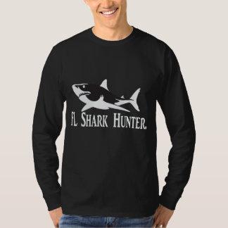 Camisa del Xl del cazador del tiburón de la