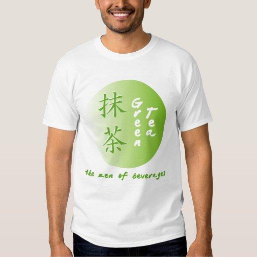 Camisa del zen del té verde