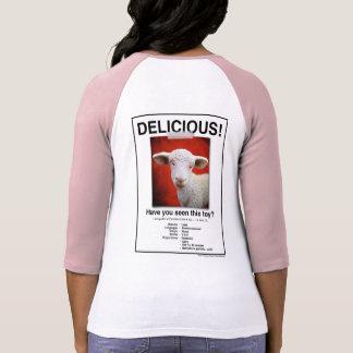 ¡Camisa deliciosa del poster del cordero! Tee Shirt