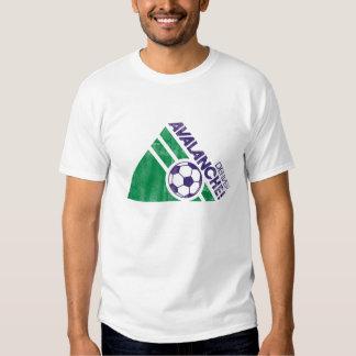 Camisa destruida fútbol de la avalancha de Denver