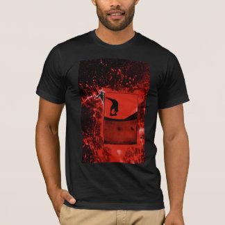 camisa digital matada gris
