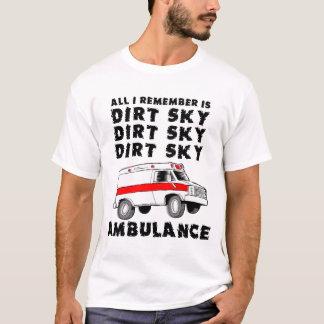Camisa divertida de la bici del motocrós de la