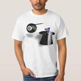 Camisa divertida de la bola BSOD de la magia 8