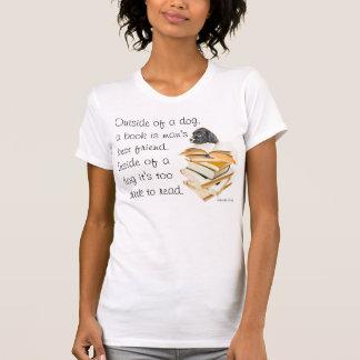 Camisa divertida de la cita del perro para los