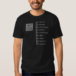 Camisa divertida de la regla de la barba