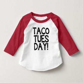 Camisa divertida de martes del Taco del niño