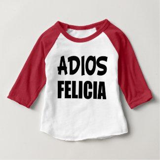 Camisa divertida del bebé de Felicia del adiós de