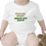 Camisa divertida del bebé: Lindo como la mamá, hed