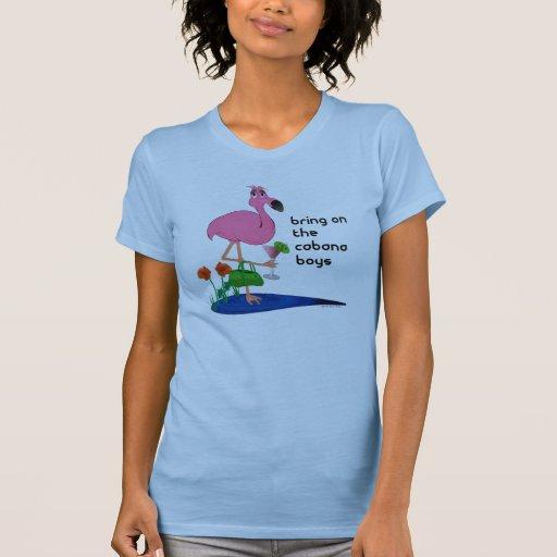 Camisa divertida del flamenco