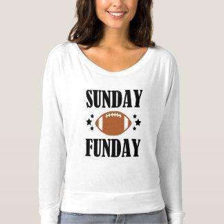 Camisa divertida del fútbol de las mujeres de
