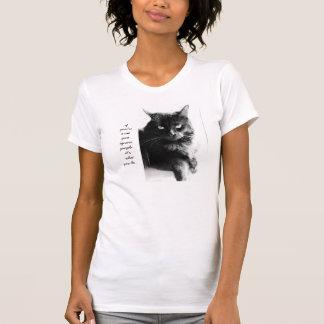 Camisa divertida del gato, si usted es un gato