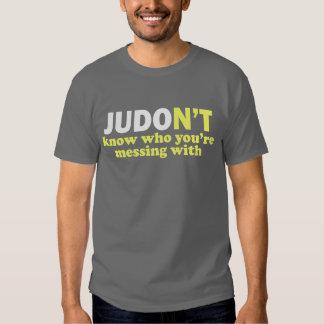 Camisa divertida del judo