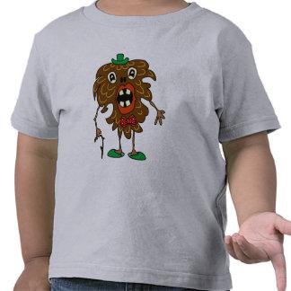 camisa divertida del monstruo del Abeto-cono