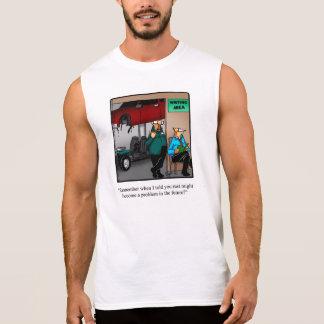 Camisa divertida del músculo del humor del