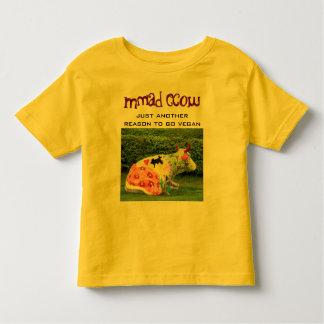 camisa divertida del niño del vegano