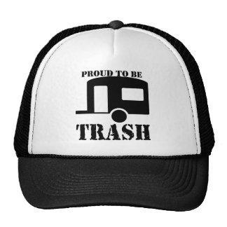 Camisa divertida del parque de caravanas gorro de camionero