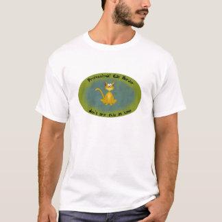 Camisa divertida del pastor del gato