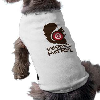 Camisa divertida del perro de la patrulla de la ar ropa de perros