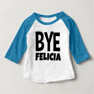 Camisa divertida del raglán del niño de Felicia