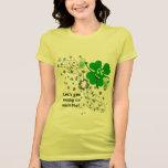 Camisa divertida del trébol del día del St Patrick